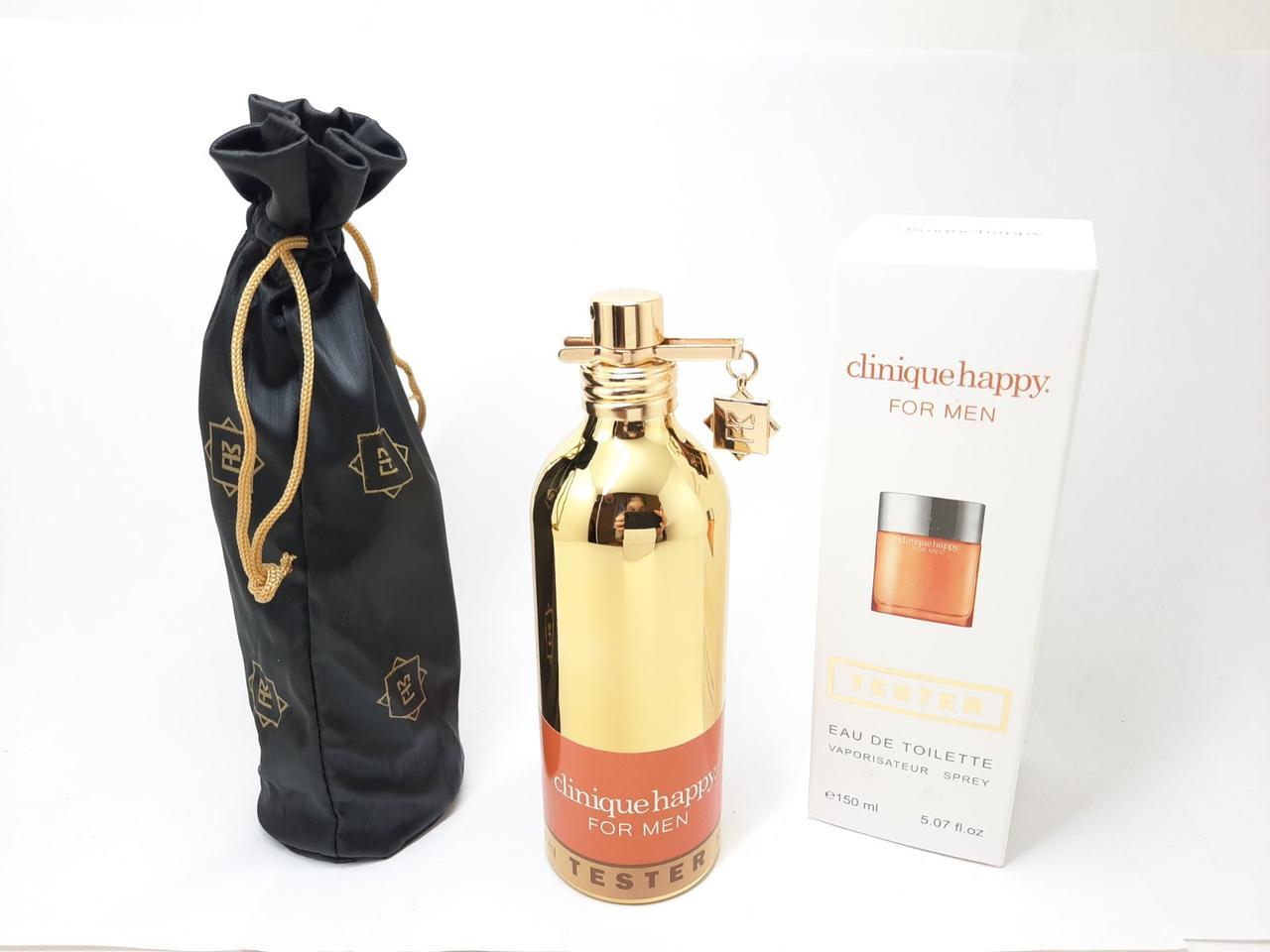 Тестер мужской парфюмированой воды Clinique Happy For Men MONTALE (Клиник Хеппи Фо Мэн) 150 мл