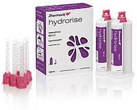 Hydrorise monophase, 2 картріджа по 50ml, А-силікон(полівінілсілоксан) середньої вязкості, 12насадок