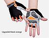Спортивные велосипедные перчатки противоскользящие с защитой от ударов аксессуары для велосипеда