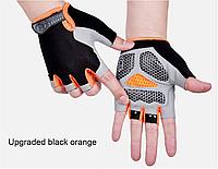 Спортивные велосипедные перчатки противоскользящие с защитой от ударов аксессуары для велосипеда, фото 1