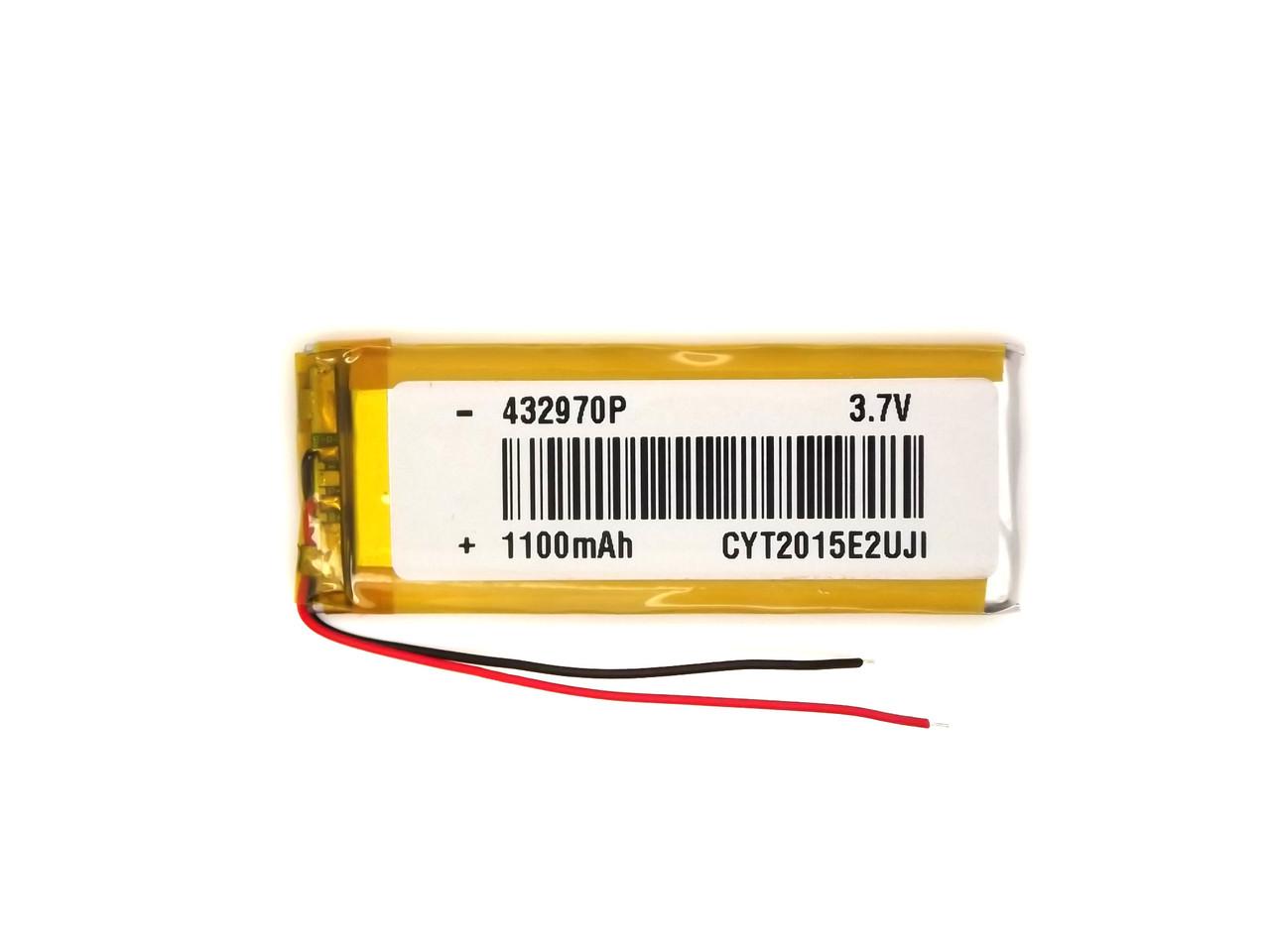 Аккумулятор 1100mAh 3.7v 352772  для, GPS навигаторов, видеорегистраторов