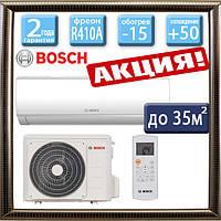 Bosch Climate 5000 RAC 3,5-2 IBW /  Climate RAC 3,5-2 OU до 35 кв.м. инверторный кондиционер (-15С)