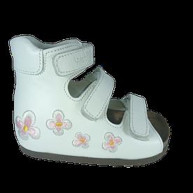 Ортопедические сандалии на пробковой подошве 07-003 р-р. 21-30