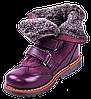 Зимові ортопедичні черевики для дівчаток 06-760 р-н. 31-36, фото 4