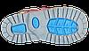 Детские кожаные ортопедические ботинки 4Rest-Orto 06-544 р-р. 31-36, фото 7