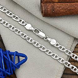 Цепочка Xuping 51903 длина 55 см ширина 4.5 мм вес 11.7 г позолота Белое золото