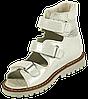 Ортопедичні сандалії для дівчаток 06-263 р-н. 21-30, фото 5