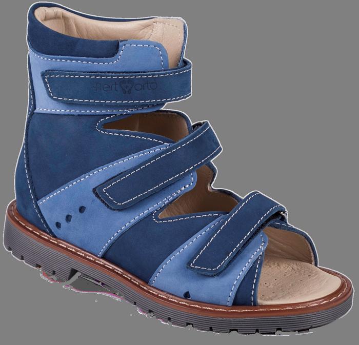 Ортопедические детские сандали на мальчика 06-245 р-р. 26-30