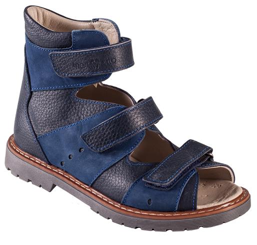 Ортопедичні дитячі сандалі на хлопчика 06-2452 р-н. 26-30