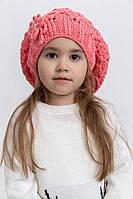 Шапка детская 126R007 цвет Коралловый, фото 1