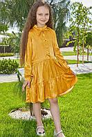 Платье для девочек желтого цвета от производителя