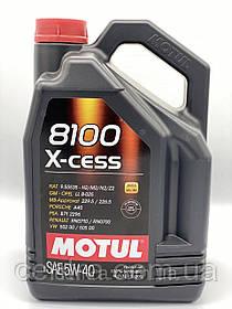 Моторное масло MOTUL 8100 X-cess 5W-40 5L