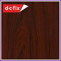 Самоклейка, декоративная самоклеящаяся пленка D-C-Fix, дерево махагон 200-2227, 45см*15м