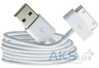 USB кабель Foxconn Apple 30-pin Cable (OEM) White (MA591)