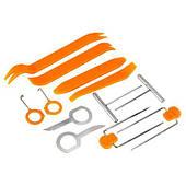 Инструмент для снятия обшивки и стекол автомобиля