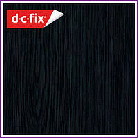 Самоклейка, декоративная самоклеящаяся пленка D-C-Fix, черное дерево 200-1700, 45см*15м