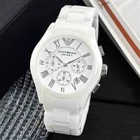 Часы наручные Emporio Armani AR-1400 White-Silver