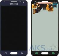 Дисплей (экран) для телефона Samsung Galaxy Alpha G850F + Touchscreen Black