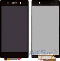 Дисплей (экран) для телефона Sony Xperia Z1 L39h C6902, Xperia Z1 L39h C6903, Xperia Z1 L39h C6906, Xperia Z1 L39h C6943 + Touchscreen Original Black