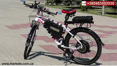 Полноразмерные вело крылья, щитки на велосипед 29 дюймов с дисковым тормозом., фото 2