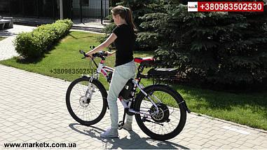 Полноразмерные вело крылья, щитки на велосипед 29 дюймов с дисковым тормозом., фото 3