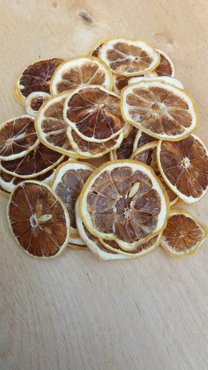 Фруктові чіпси з лимону
