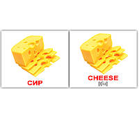 "МИНИ карточки (укр.-англ.) ""Їжа\Food""(65316)"
