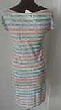 Платье футляр морская тематика. Прекрасный вариант для пляжа или другого повода. р.44, код 1506М, фото 3