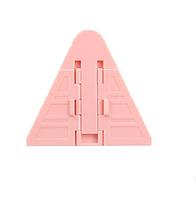 Замок для детей на шкаф - купе. Розовый