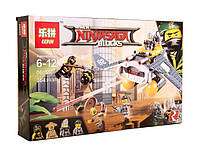 "Конструктор Ninjago Movie Lepin 06055 ""Бомбардировщик Морской дьявол"" (аналог) 364 деталей  KK"