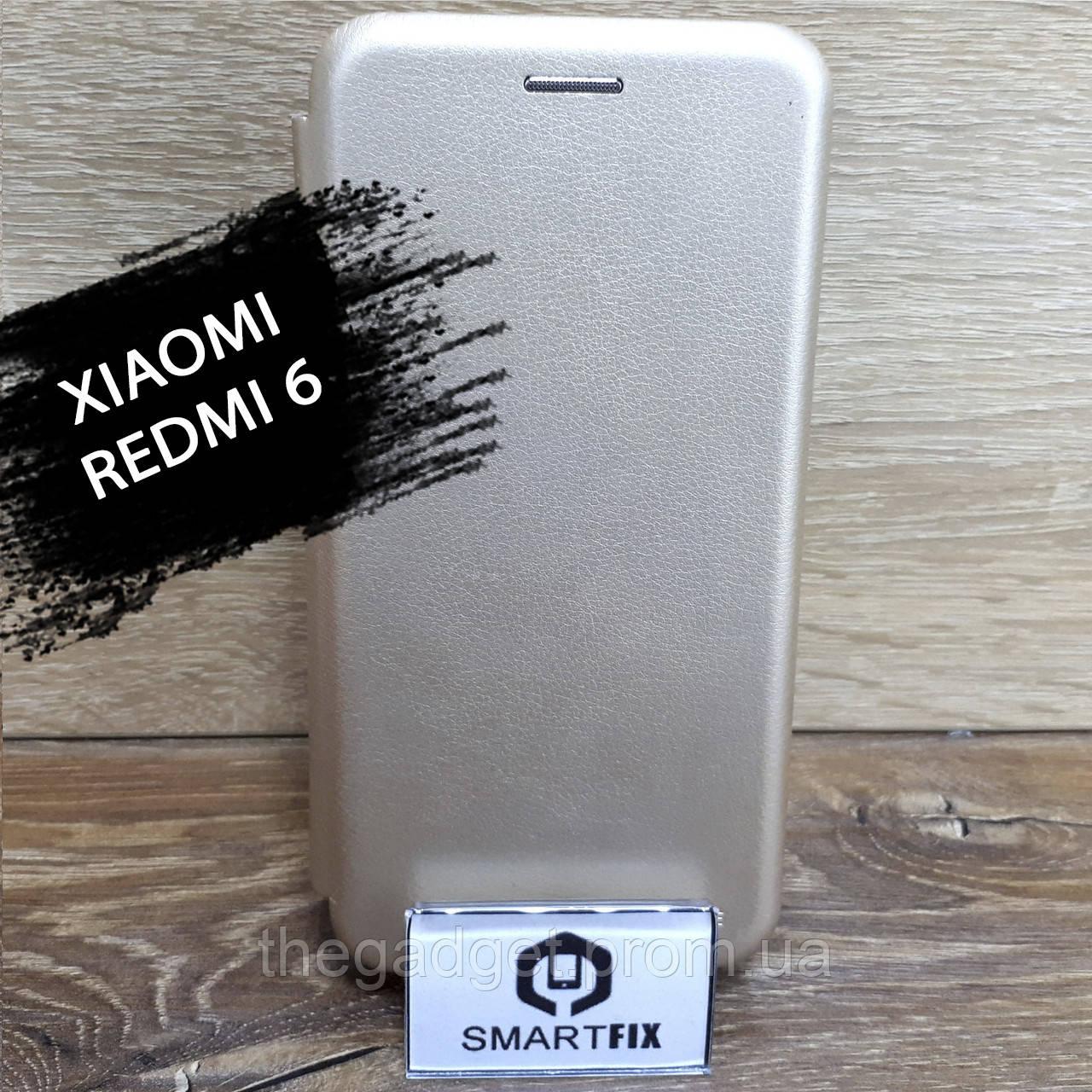 Чехол книжка для Xiaomi Redmi 6 G-Case