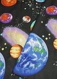 Постельное белье полуторное Планеты. Бязь Gold, фото 2