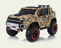 Электромобиль детский 7Toys Джип Сафари Camouflage с колесами EVA (optc_J2009)