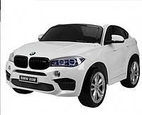 Электромобиль детский DT BMW X6M C1907 Белый (optc_C1907)