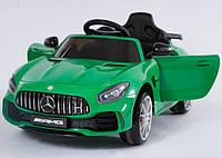 Электромобиль детский 7Toys DT Mercedes AMG C1913 с колесами EVA Green (optc_C1913)