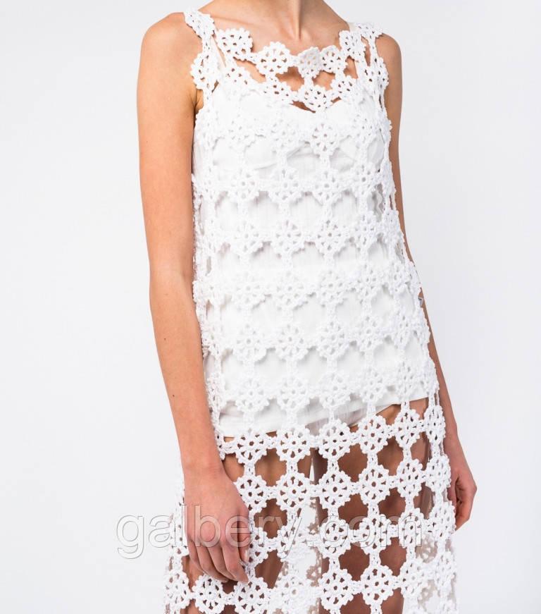 Летнее платье - туника по мотивам Анны Костуровой