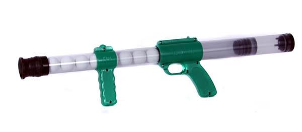 Игрушечный помповый автомат 0616A Пинг-понг Зелёный