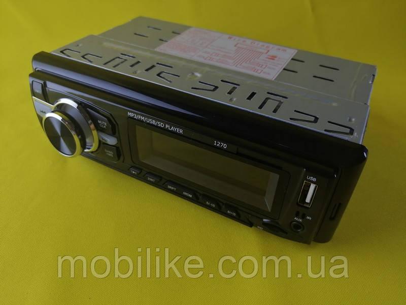 Автомобільна магнітола Pioner 1270 ISO USB, SD FM AUX