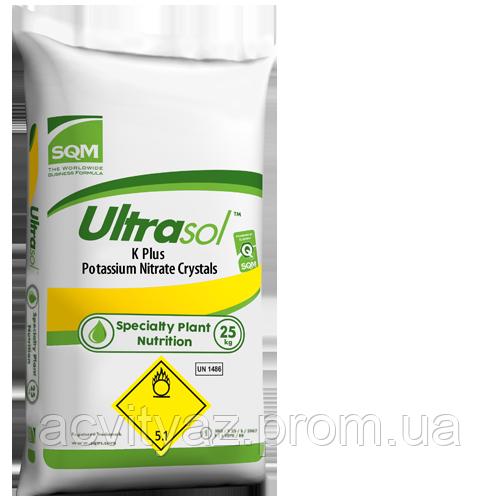 Минеральное удобрение  Нитрат калия (калиевая селитра) ULTRASOL K PLUS, 25 кг