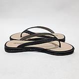 36 р. Шлепанцы женские пляжные, черные летние Последняя пара, фото 6