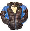 Мужская куртка тёплая подросток