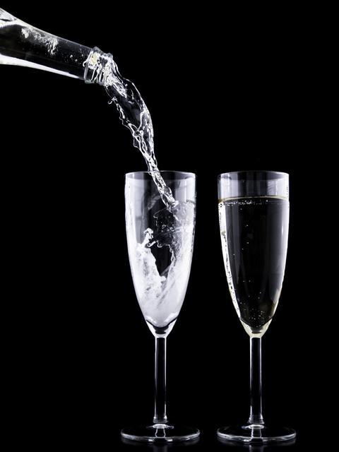 Келихи і фужери для шампанського