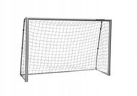 Футбольні ворота Hudora Expert 240x160x85 см / Німеччина