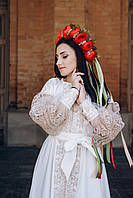 Вишите плаття Золота Бохо-Берегиня - стиль, гармонія і привабливість в одному флаконі