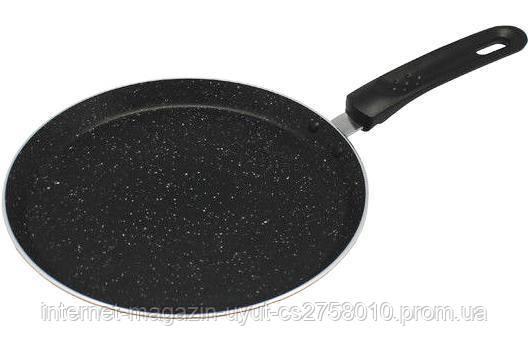 Сковорода блинная Kamille Velbert Ø24см с мраморным антипригарным покрытием