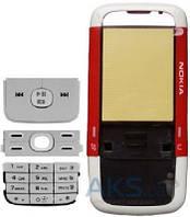 Корпус Nokia 5700 с клавитаурой Red