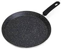 Сковорода блинная Kamille Crepe Pan Marble Ø28см с мраморным покрытием