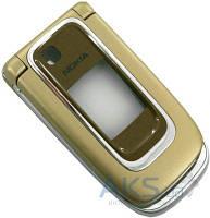 Корпус Nokia 6131 с клавиатурой Gold