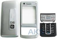 Корпус Nokia 6280 с клавиатурой Silver