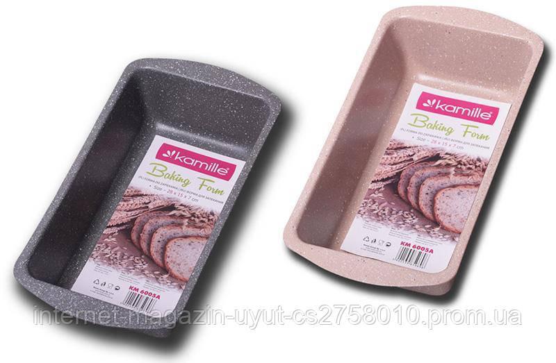 Форма Kamille Bakery Marble для випічки 25х12х5см хлібна